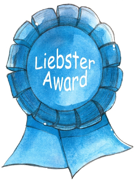Liebster award ribbon