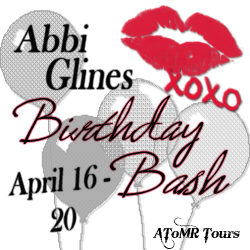 Abbi Glines Birthday Bash Giveaway Button